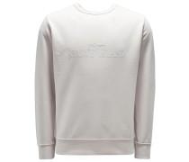 R-Neck Wende-Sweatshirt beige
