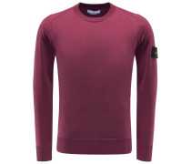 R-Neck Pullover bordeaux