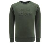 Sweatshirt 'Discipline' dark olive