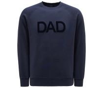 Sweatshirt mit Rundhals 'Dad' navy