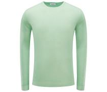 R-Neck Pullover hellgrün