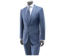 Anzug 'Multiseason Manhattan Slim Fit' graublau