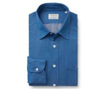 Casual Hemd 'St Tropez' Kent-Kragen blau