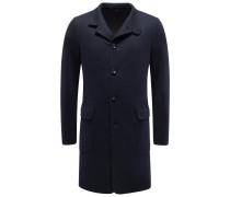 Jersey-Mantel 'Sweater Coat Light' dark navy