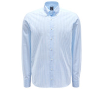 Casual Hemd 'Malon Tailor Fit' Button-Down-Kragen hellblau