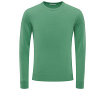 Cashmere R-Neck Pullover 'No. 30' grün