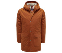 Daunenparka 'Deer Hunter Long' orange