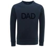 R-Neck Sweatshirt 'Dad' navy