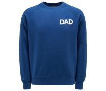 Sweatshirt mit Rundhals 'Dad' dunkelblau