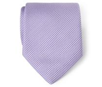 Seidenkrawatte violett