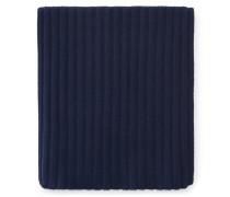 Cashmere Schal dunkelblau