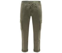 Cargo-Hose 'Jones Comfort Slim Fit' oliv