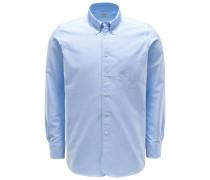 Oxford Hemd 'Costes' Button-Down-Kragen hellblau