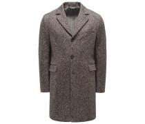 Jersey-Mantel dunkelbraun