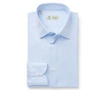 Business Hemd 'Severo' Kent-Kragen hellblau