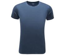 R-Neck T-Shirt graublau