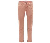 Baumwollhose 'J613 Comfort Slim Fit' orange
