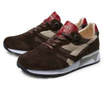Sneaker 'N9000' dunkelbraun