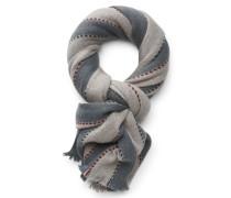 Baby-Cashmere Schal 'Keble' graubeige/graublau