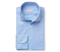 Casual Hemd 'Ween' schmaler Kragen rauchblau