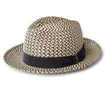 Strohhut 'Panama Ventilato' beige/schwarz