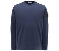 Rundhals-Sweatshirt graublau
