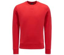 R-Neck Sweatshirt 'Jefferson' rot