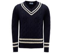 V-Ausschnitt-Pullover 'Cervinia' navy