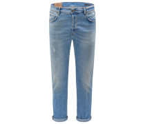 Jeans 'Ivan Carrot Drop Crotch Fit' rauchblau