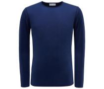 R-Neck Pullover 'Len' dunkelblau