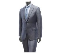 Anzug 'Milano Easy Slim Fit' graublau