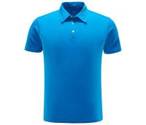 Jersey-Poloshirt 'Jack' azurblau