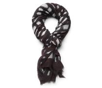 Schal braun/schwarz