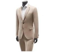 Anzug beige