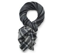 Cashmere Schal schwarz/grau