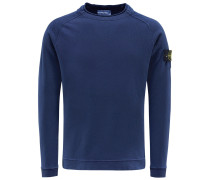 R-Neck Sweatshirt dunkelblau