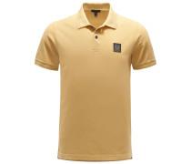 Jersey-Poloshirt 'Stannett' gelb