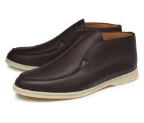 Loafer 'Open Walk Alce Soft' dunkelbraun