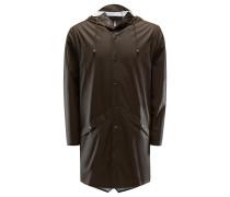 Regenmantel 'Long Jacket' dunkelbraun