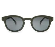 Sonnenbrille '#C Sun' oliv/grau
