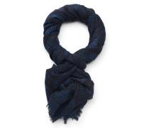 Schal 'Aalloro' schwarz/blau
