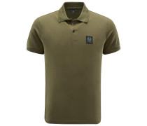 Jersey-Poloshirt 'Stannett' oliv