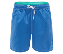 Badeshorts 'Solid Volley' blau