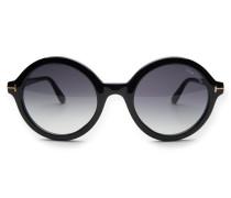 Sonnenbrille 'Nicolette' schwarz/grau