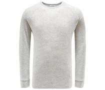 R-Neck Sweatshirt 'Levi' grau