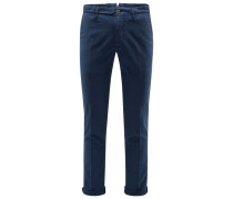 Chino 'Slacks Slim Fit' navy