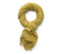Cashmere Schal 'Grande Unita' gelb