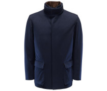 Cashmere Jacke 'Winter Voyager' navy