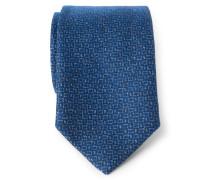 Krawatte rauchblau