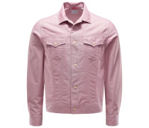 Overshirt 'Clint' rosé